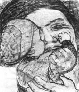 Derkovits Gyula: Az anya (1934.)